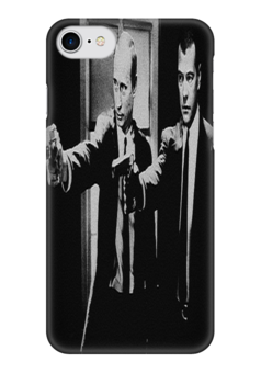 """Чехол для iPhone 7 глянцевый """"Путин и Медведев"""" - знаменитости, политика, путин, медведев"""