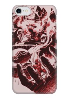 """Чехол для iPhone 7 глянцевый """"Галактус Арт2"""" - lovecomics, марвел, суперзлодей, галактус, комиксы"""