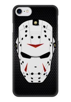 "Чехол для iPhone 7 глянцевый ""Iron Man x Friday 13"" - железный человек, iron man, пятница 13-е, friday the 13th, slasher"