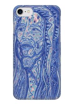 "Чехол для iPhone 7 глянцевый ""Bob Marley"" - музыка, арт, ямайка, боб марли, bob marley, reggae, рэгги, фан"
