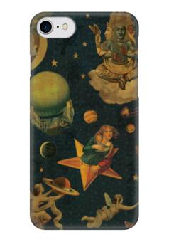 "Чехол для iPhone 7 глянцевый ""Dreams"" - космос, мечты, небо, dreams, smashing pumpkins"