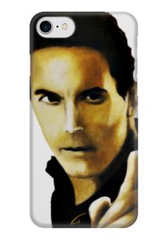 """Чехол для iPhone 7 глянцевый """"Цените время"""" - арт, деньги, искусство, время, ценность"""