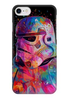 "Чехол для iPhone 7 глянцевый ""Штурмовик"" - star wars, darth vader, звездные войны, stormtrooper, штурмовик"
