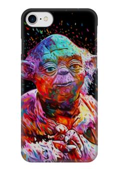 """Чехол для iPhone 7 глянцевый """"Йода (Yoda)"""" - star wars, yoda, звездные войны, йода, стар варс"""