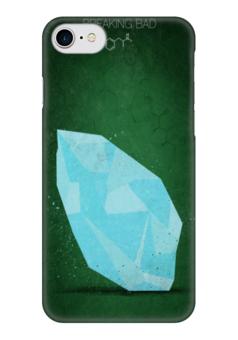 """Чехол для iPhone 7 глянцевый """"во все тяжкие"""" - сериалы, фильмы, во все тяжкие, breaking bad, хайзенберг"""