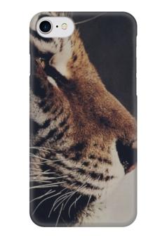 "Чехол для iPhone 7 глянцевый ""Stylish "" - cat, tiger, тигр"