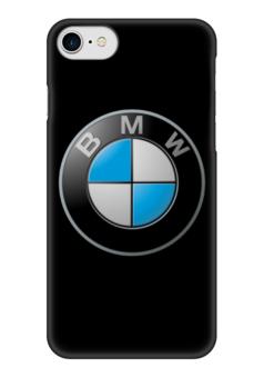 "Чехол для iPhone 7 глянцевый ""BMW - бмв"" - bmw, автомобиль, авто, машина, бэха"