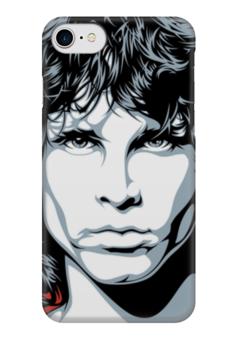 "Чехол для iPhone 7 глянцевый ""Джим Моррисон (The Doors)"" - jim morrison, the doors, джим моррисон"