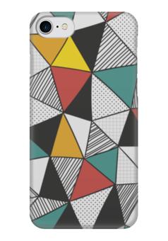 """Чехол для iPhone 7 глянцевый """"Абстракция"""" - арт, стиль, абстракция, кубизм, модерн"""