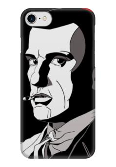 """Чехол для iPhone 7 глянцевый """"Маяковский"""" - арт, маяковский, футуризм, поэзия, литература"""