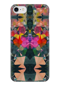 """Чехол для iPhone 7 глянцевый """"Грааль"""" - черный, красный, желтый, зеленый, розовый"""