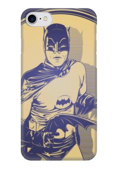 """Чехол для iPhone 7 глянцевый """"Бэтмен"""" - comics, комиксы, batman, dc comics"""
