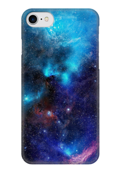 """Чехол для iPhone 7 глянцевый """"Космос"""" - космос, красивый, чехол"""