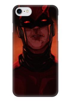 "Чехол для iPhone 7 глянцевый ""Сорвиголова (Daredevil)"" - комиксы, марвел, дардевил, daredevil, сорвиголова"