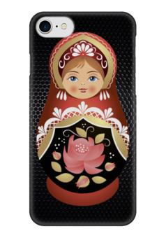 """Чехол для iPhone 7 глянцевый """"Матрешка"""" - матрешка, russian doll"""