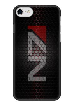 """Чехол для iPhone 7 глянцевый """"N7 (Mass Effect)"""" - mass effect, n7, масс эффект, ме"""