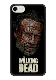 "Чехол для iPhone 7 глянцевый ""The Walking Dead"" - зомби, сериал, ходячие мертвецы, walking dead, the walking dead"