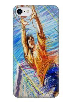 "Чехол для iPhone 7 глянцевый ""Футбол 2018"" - чемпионат европы, турнир, футбол 2016, евро-2016, матч"