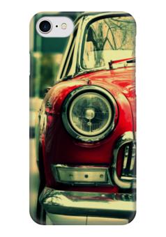 """Чехол для iPhone 7 глянцевый """"Ретро"""" - любовь, ретро, винтаж, автомобили, машины"""
