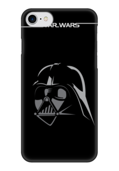 Чехол для iPhone 7 глянцевый "Дарт Вейдер (Darth Vader) " - star wars, darth vader, звездные войны, дарт вейдер, энакин скайуокер