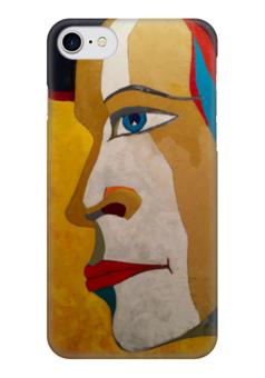 "Чехол для iPhone 7 глянцевый ""Арт  "" - любовь, арт, портрет, авангард, федор конюхов"
