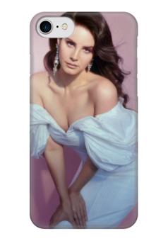 """Чехол для iPhone 7 глянцевый """"Lana Del Rey"""" - lana del rey, лана дель рей, лана, lust for life, богиня"""
