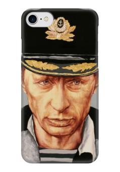 "Чехол для iPhone 7 глянцевый ""Путин"" - россия, патриотизм, путин, президент, putin"