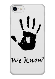 "Чехол для iPhone 7 глянцевый ""Темное братство"" - игра, skyrim, tes, скайрим, братство"