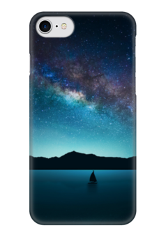 "Чехол для iPhone 7 глянцевый ""Universe"" - космос, звезды, вселенная"
