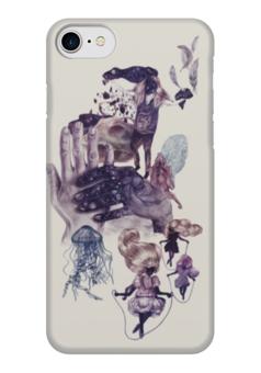 """Чехол для iPhone 7 глянцевый """"Прочь от стереотипов"""" - философия, стереотипы"""