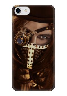 "Чехол для iPhone 7 глянцевый ""Стимпанк / Steampunk"" - фентези, машины, фэнтэзи, steampunk, стимпанк"