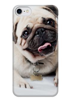 "Чехол для iPhone 7 глянцевый ""Pugs "" - pug, мопс, pugs"