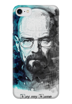 "Чехол для iPhone 7 глянцевый ""Breaking Bad"" - во все тяжкие, breaking bad, heisenberg"