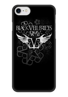"""Чехол для iPhone 7 глянцевый """"Black Veil Brides"""" - black veil brides, музыка, группы, рок, метал"""