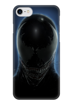 """Чехол для iPhone 7 глянцевый """"Веном"""" - venom, веном, симбиот веном, венум"""