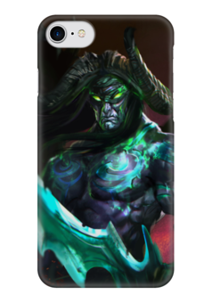"Чехол для iPhone 7 глянцевый ""Illidan Stormrage"" - варкрафт, иллидан, близзард, world of warcraft, warcraft"
