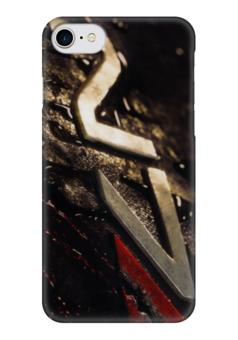 """Чехол для iPhone 7 глянцевый """"N7 (Mass Effect)"""" - me, mass effect, n7, масс эффект"""