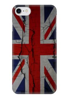 """Чехол для iPhone 7 глянцевый """"Британский Флаг"""" - англия, флаг, uk, great britain, британский флаг"""