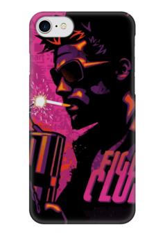 "Чехол для iPhone 7 глянцевый ""Бойцовский Клуб (Fight Club)"" - бойцовский клуб, brad pitt, брэд питт, fight club"