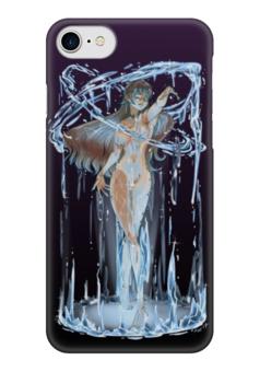 """Чехол для iPhone 7 глянцевый """"Мать моря"""" - девушка, ведьма, вода, магия, русалка"""