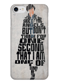 "Чехол для iPhone 7 глянцевый ""Шерлок Sherlock"" - сериал, sherlock, шерлок, шерлок холмс, sherlock holms"