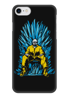 "Чехол для iPhone 7 глянцевый ""Breaking Bad x Game of Thrones"" - пародия, во все тяжкие, игра престолов, гайзенберг"