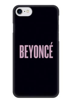 """Чехол для iPhone 7 глянцевый """"Beyoncé"""" - певица, beyonce, бейонсе, beyoncé"""