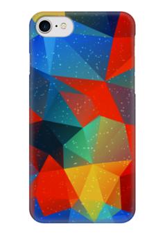 "Чехол для iPhone 7 глянцевый ""Абстракция"" - узор, стиль, абстракция, абстрактный, рсиунок"