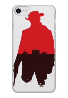 "Чехол для iPhone 7 глянцевый ""Джанго (Django)"" - django, tarantino, тарантино, джанго"