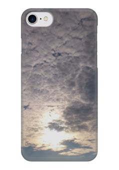 """Чехол для iPhone 7 глянцевый """"Воздушное Настроение"""" - sky, небо, облака, air, воздушное настроение"""