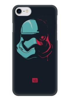 "Чехол для iPhone 7 глянцевый ""Дарт Вейдер"" - фантастика, stormtrooper, дарт вейдер, штурмовик"