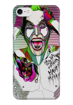"Чехол для iPhone 7 глянцевый ""Джокер"" - jared leto, joker, джокер, отряд самоубийц, suicide squad"
