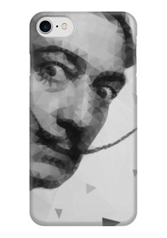 "Чехол для iPhone 7 глянцевый ""Сальвадор Дали"" - сальвадор дали, арт, стиль, искусство, авангард"