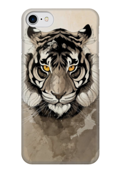 "Чехол для iPhone 7 глянцевый ""Тигр "" - арт, tiger, тигр"